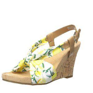 Aerosoles Women's Plush Pillow Wedge Sandal